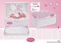 Пупс виниловый младенец Tonet 33 см с комодом Antonio Juan 6056