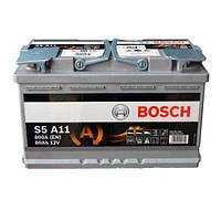 Аккумулятор BOSCH 6СТ-80 AGM Евро (S5A11)