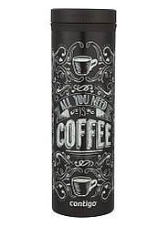 Термокружка Contigo Twist Seal Eclipse Coffee Black 591 мл (1000-0698)