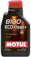 Моторное масло MOTUL 8100 Eco-clean+ 5W-30 1л