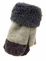 Детские теплые рукавички 6-9лет