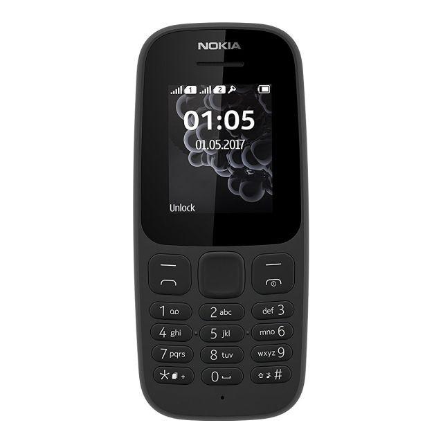 Телефон Nokia 105 DS 2017 Black