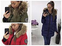Женская  зимняя пальто-куртка Аляска 780
