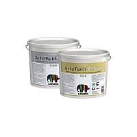 Декоративная штукатурка Capadecor ArteTwin Effect Silber (База серебро) 2,5л