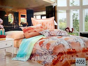 """Комплект постельного белья Elway """"Евро"""" 4058, фото 2"""