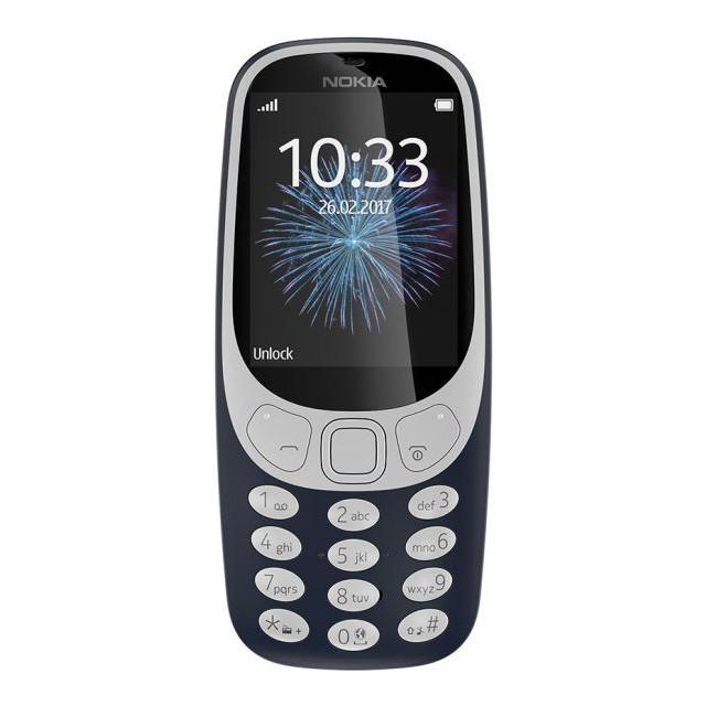 Телефон Nokia 3310 Dual Blue (A00028099)