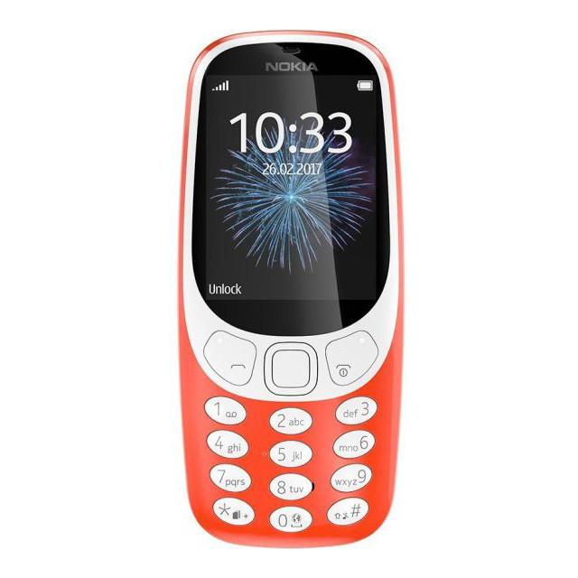 Телефон Nokia 3310 Dual Red (A00028102)