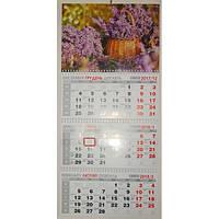 Календарь настенный квартальный на 2018г (3 пружины) Buromax BM2105