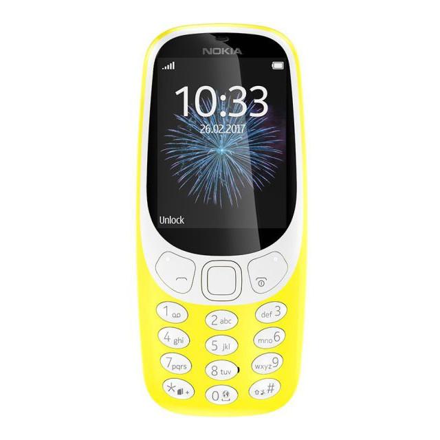 Телефон Nokia 3310 Dual Yellow (A00028100)