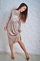 """Женское платье """"Плиссе"""", фото 1"""