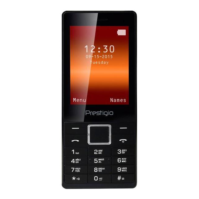 Телефон Prestigio PFP 1280 Muze B1 DUO Black