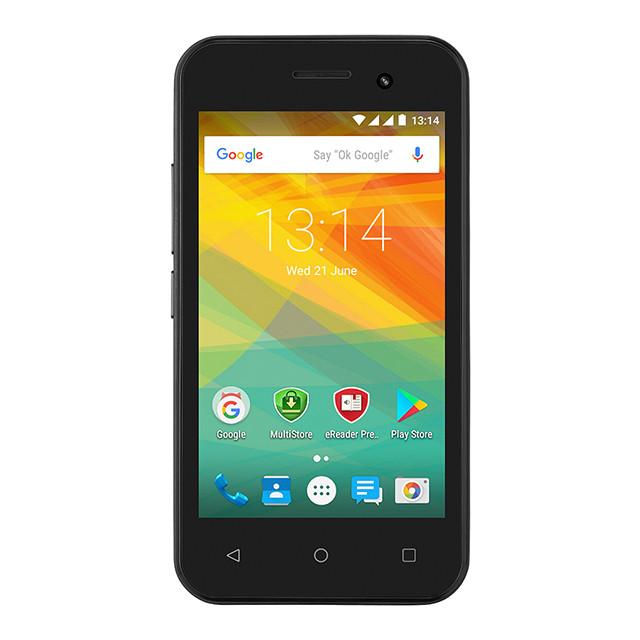 Смартфон Prestigio MultiPhone PSP3423 Wize R3 PSP3423 Duo Black (PSP3423DUOBLACK)