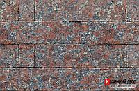 Гранит плитка RossoSantiago см: 1,5х7,5х30 серо-красный №1