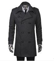 Мужское стильное пальто. Модель 509., фото 6