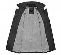 Мужское стильное пальто. Модель 509., фото 3