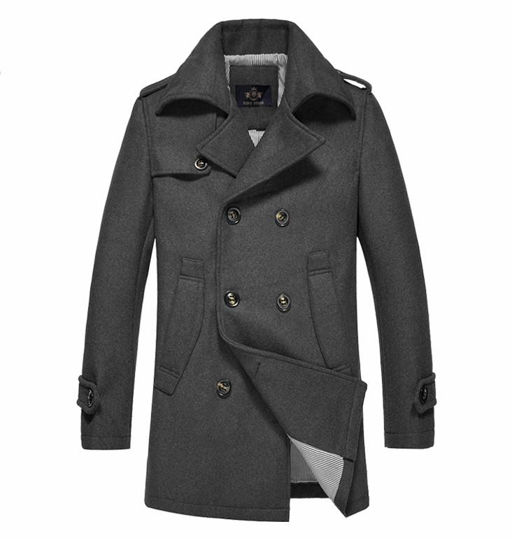 Мужское стильное пальто. Модель 509.