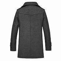 Мужское стильное пальто. Модель 509., фото 4