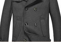 Мужское стильное пальто. Модель 509., фото 5