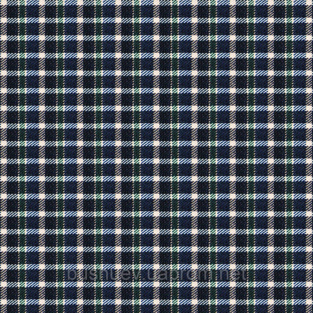 Шотландка на флисе (P3522 дизайн 1)