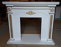 Деревянный каминный портал, фото 1