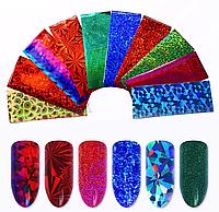 3 D фольга для дизайна ногтей ( в ассортименте ) , 1 шт.