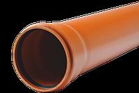 Трубы ПВХ для наружной канализации 110х3,2 SN4 L=1000