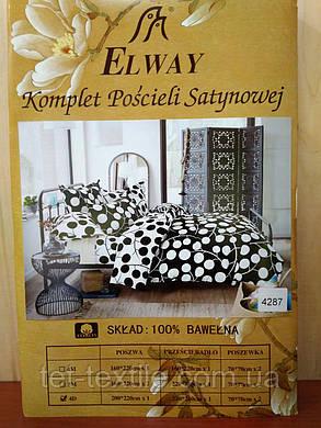 """Комплект постельного белья Elway """"Евро"""" 4287, фото 2"""
