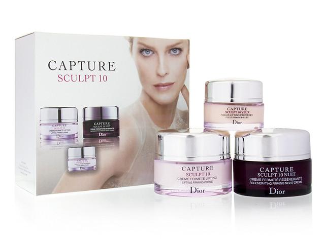 """Набор кремов 3в1 Christian Dior """"Capture Sculpt 10"""""""