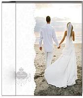 Нежный свадебный фотоальбом UFO 20SHEET S22X32 WEDDING BOUQUET 6337738 белый