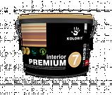 Краска латексная KOLORIT interior PREMIUM 7 интерьерная 2,7л, фото 2