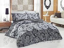 Комплект постельного белья Nazenin avantgarde gri - satin