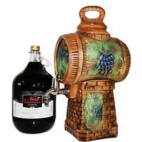 Бочка сувенирная для вина  52-12, 6л