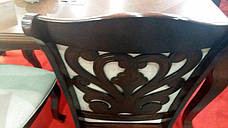 Стол обеденный круглый Мадрид Sof, цвет вишня, фото 2