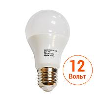 Светодиодная лампа POWERLUX (7W E27 4500K 12V AC/DC)