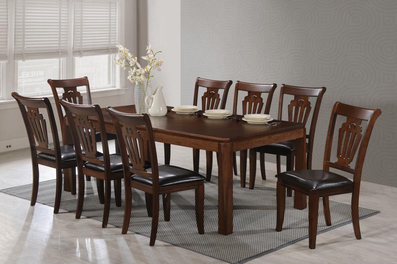 Стол обеденный деревянный  Сидней Sof, цвет вишня