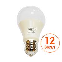 Светодиодная лампа POWERLUX (9W E27 4500K 12V)
