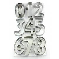 Набор вырубок Цифры металл 0-9