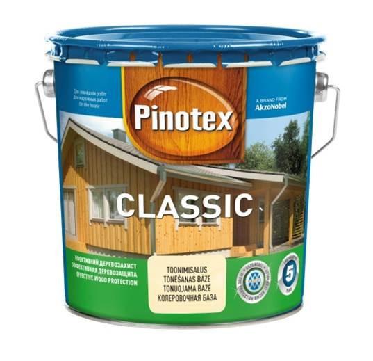 Пропитка для дерева  PINOTEX CLASSIC (Пинотекс Класик) Палисандр 3л