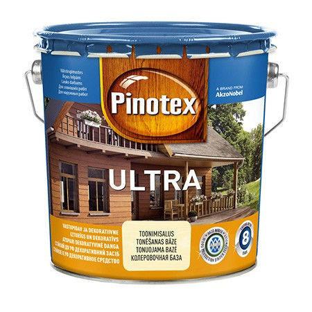 Пропитка для дерева с лаком PINOTEX ULTRA (Пинотекс Ультра) Калужница 3л