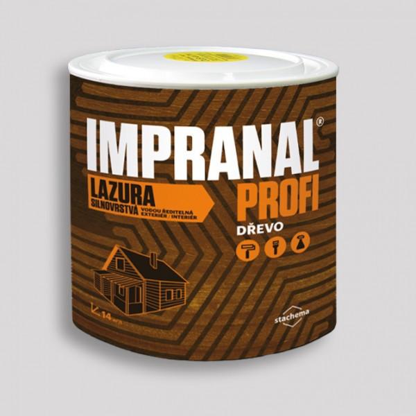 Лазурный лак для дерева IMPRANAL PROFI (тик) 2,5 л