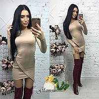 Платье женское по фигуре ,Материал: трикотаж  много расцветок, супер качество абой №1446