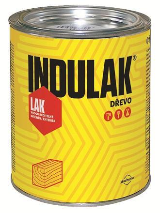 Лак для дерева полиуретановый INDULAK (полуматовый) 5 л