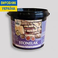 Лак для искусственного камня STONELAK AQUA (полуглянцевый) 1 л