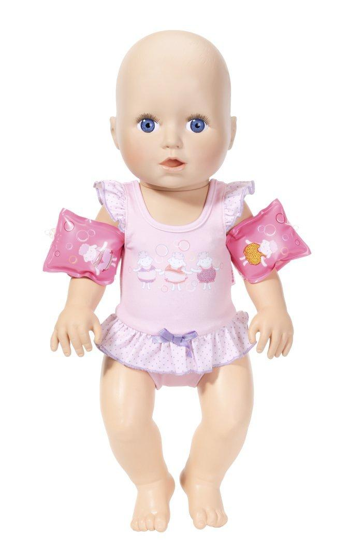 Интерактивный пупс Учусь плавать Baby Annabell Zapf Creation 700051