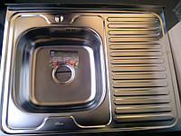 Мойка кухонная накладная Ora-Lux 60х80см.