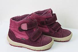 Ботинки на девочку натур замш  размер 24 Superfit GORE-TEX