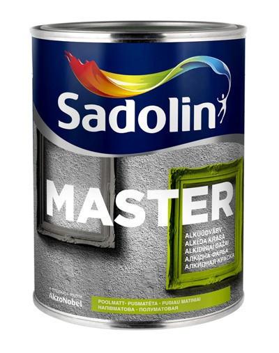 Краска по дереву и металлу Sadolin MASTER 90 (глянцевая) 1л