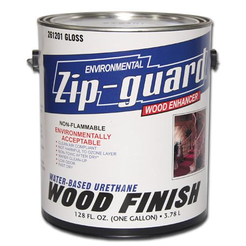 Лак на водной основе Zip-Guard Water Based Urethane Wood (полуглянцевый) 0,946л