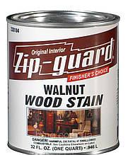 Морилка для дерева Zip-Guard WOOD STAIN (тёмный орех) 0,946л