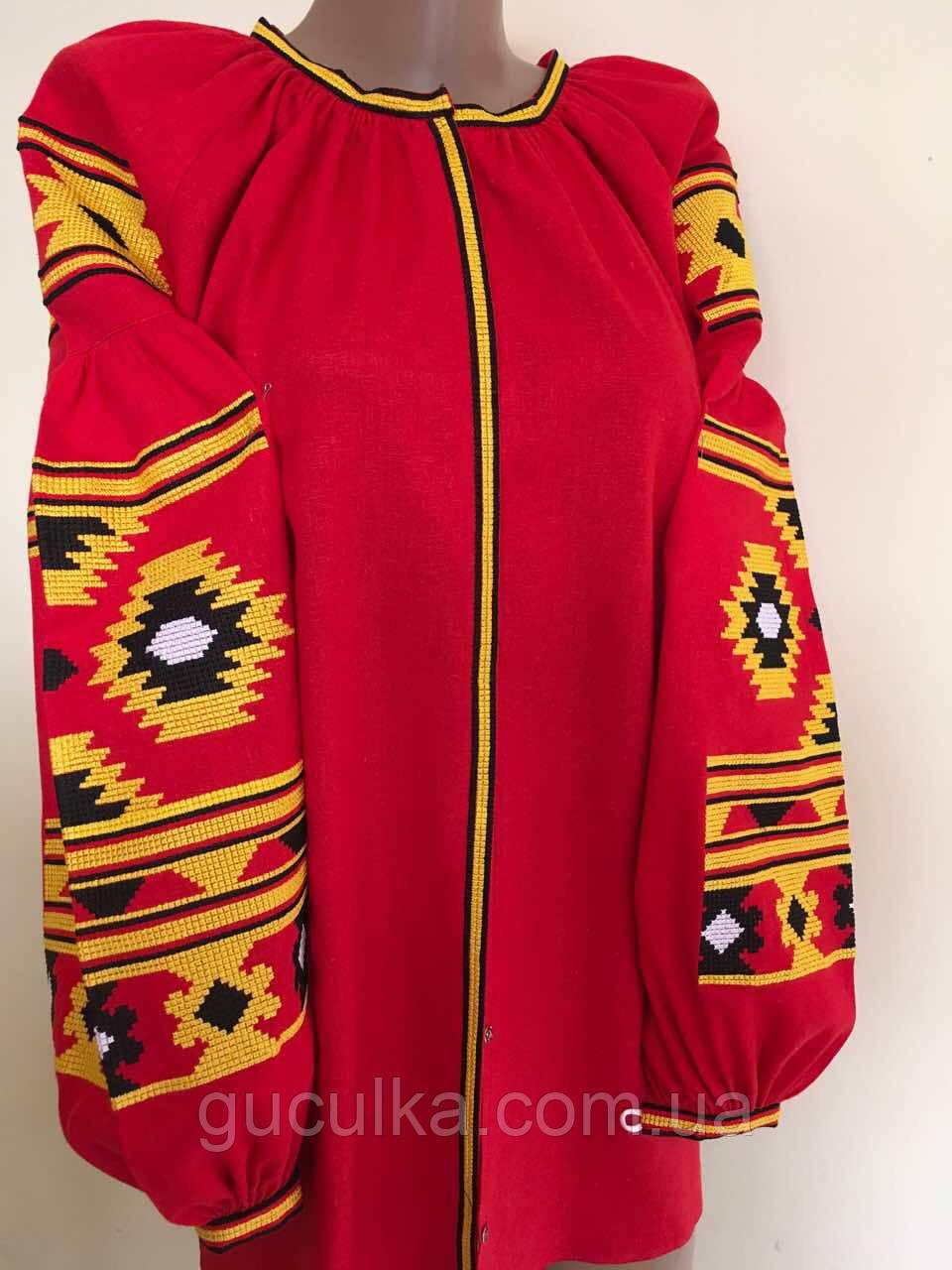 Вишиванка жіноча на габардині в стилі Бохо - Інтернет-магазин